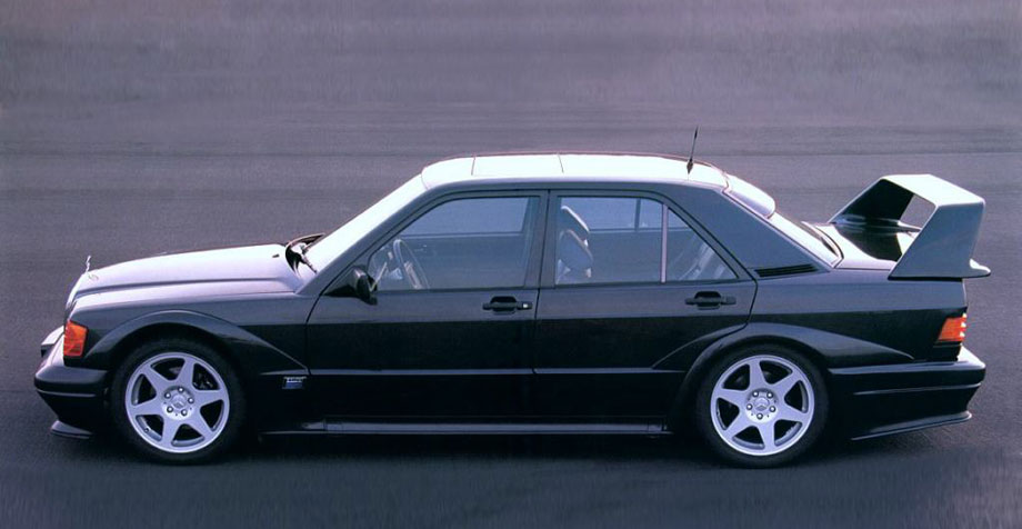 Mercedes-Benz 190 E 2.5 - 16 Evolution II '91 side.jpg